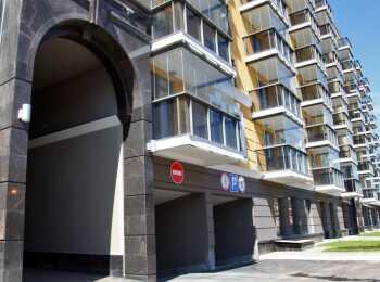 Подземный паркинг ЖК Тапиола